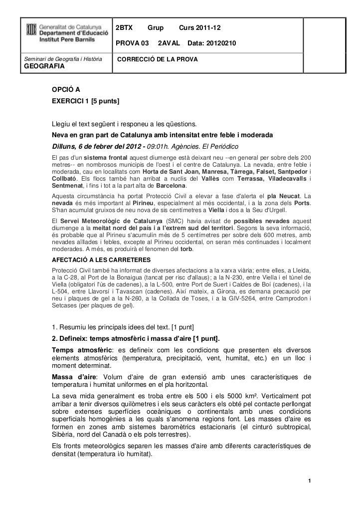 2BTX        Grup        Curs 2011-12                                   PROVA 03         2AVAL      Data: 20120210Seminari ...