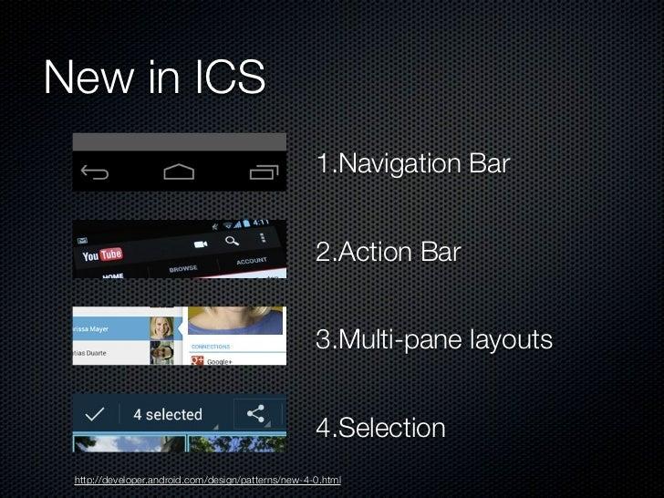 Navigation                                  Back                                Up                    system & in-app     ...