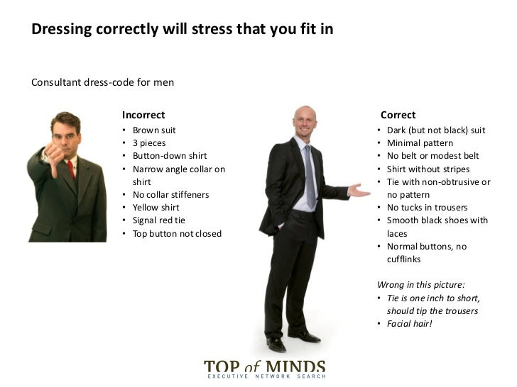 Dress code style consultants