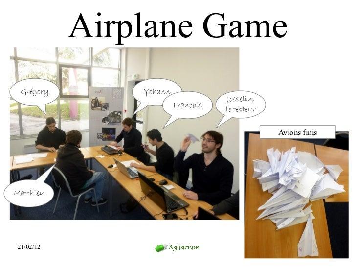 Airplane Game  Grégory       Yohann                                     Josselin,                         François        ...