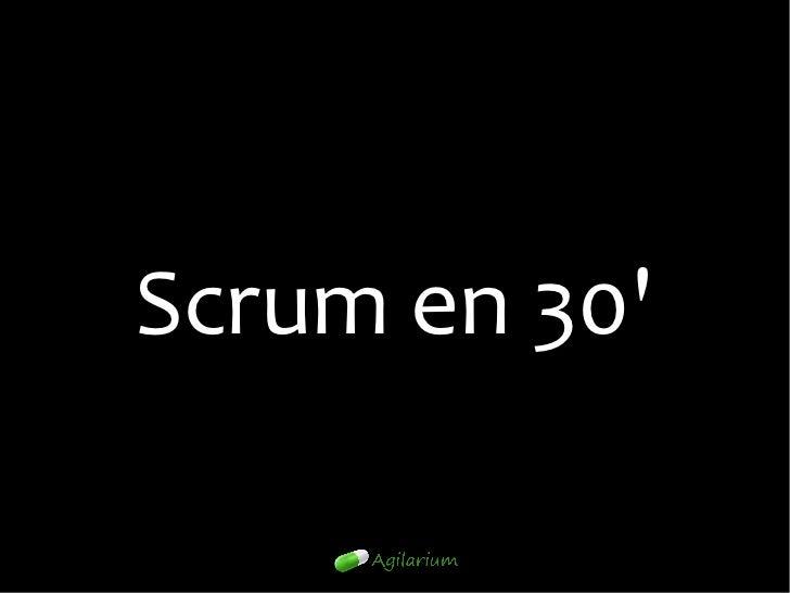 Scrum en 3021/02/12                  37