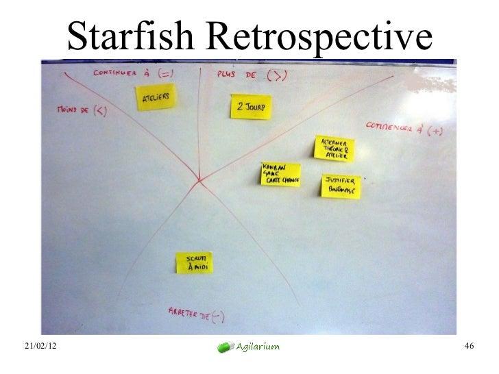 Starfish Retrospective21/02/12                            46