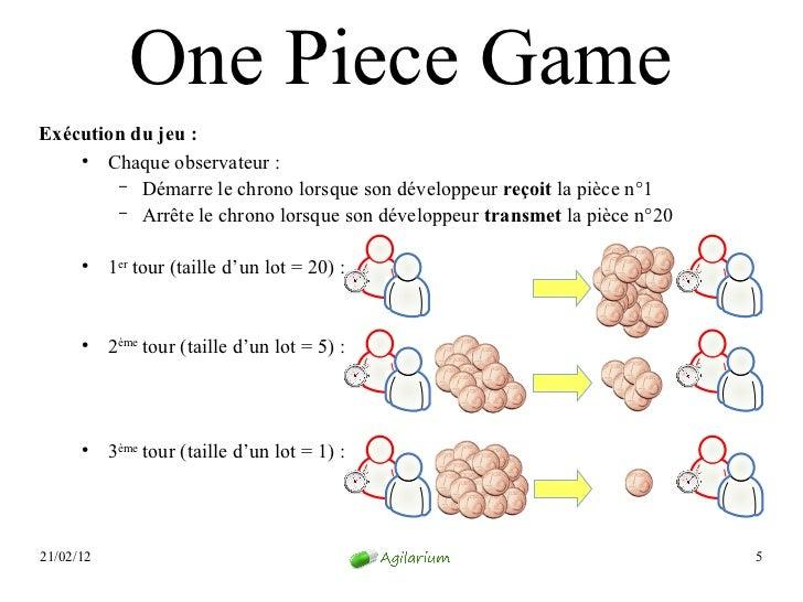 One Piece GameExécution du jeu:    ●       Chaque observateur :        – Démarre le chrono lorsque son développeur reçoit...