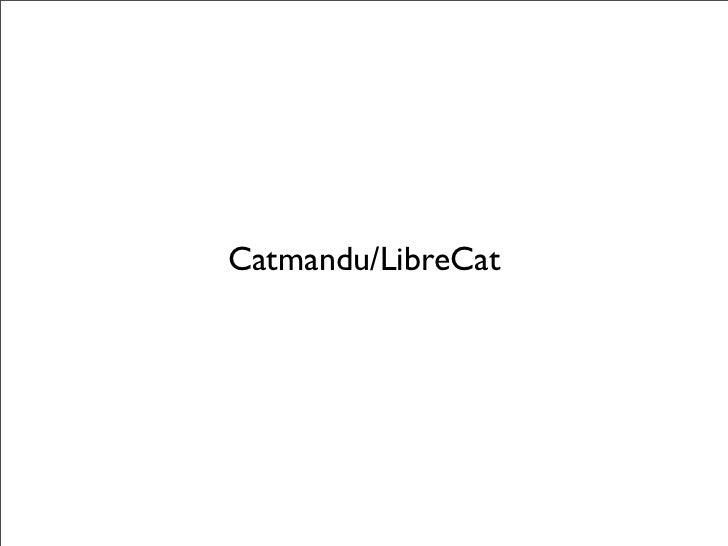 Catmandu/LibreCat