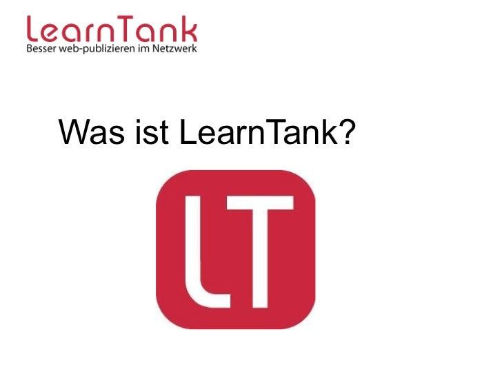 Was ist LearnTank?