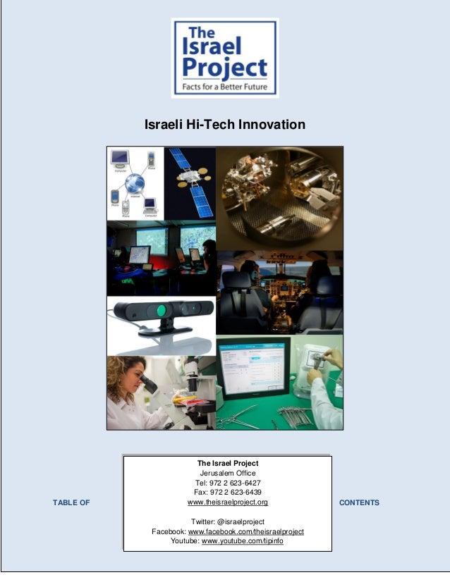 The Israel Project Jerusalem Office Tel: 972 2 623-6427 Fax: 972 2 623-6439 www.theisraelproject.org Twitter: @israelproje...