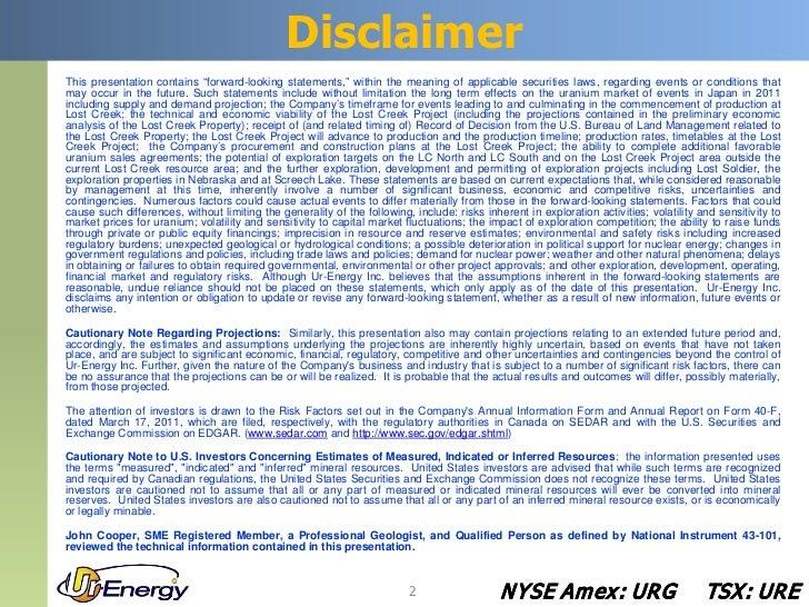 March 2012 PDAC Corporate Presentation Slide 2