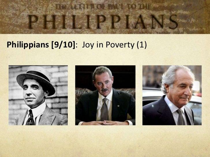 Philippians [9/10]: Joy in Poverty (1)