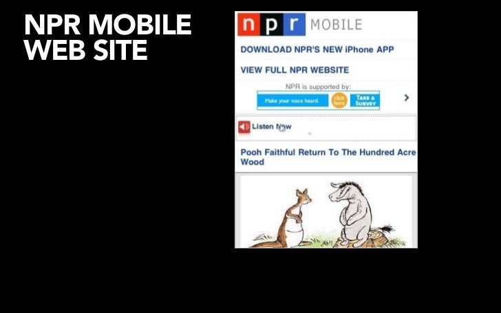 NPR INiTUNES