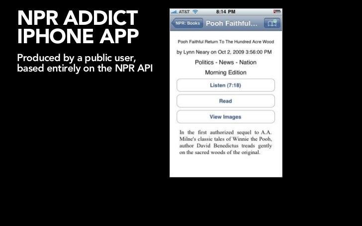 NPR'SCMS