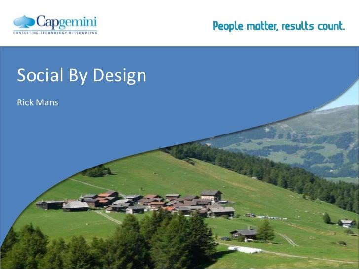Social By DesignRick Mans