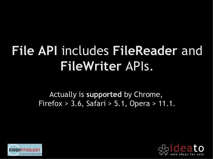 First steps on                          offline storage                          development.http://flic.kr/p/5PnRQr