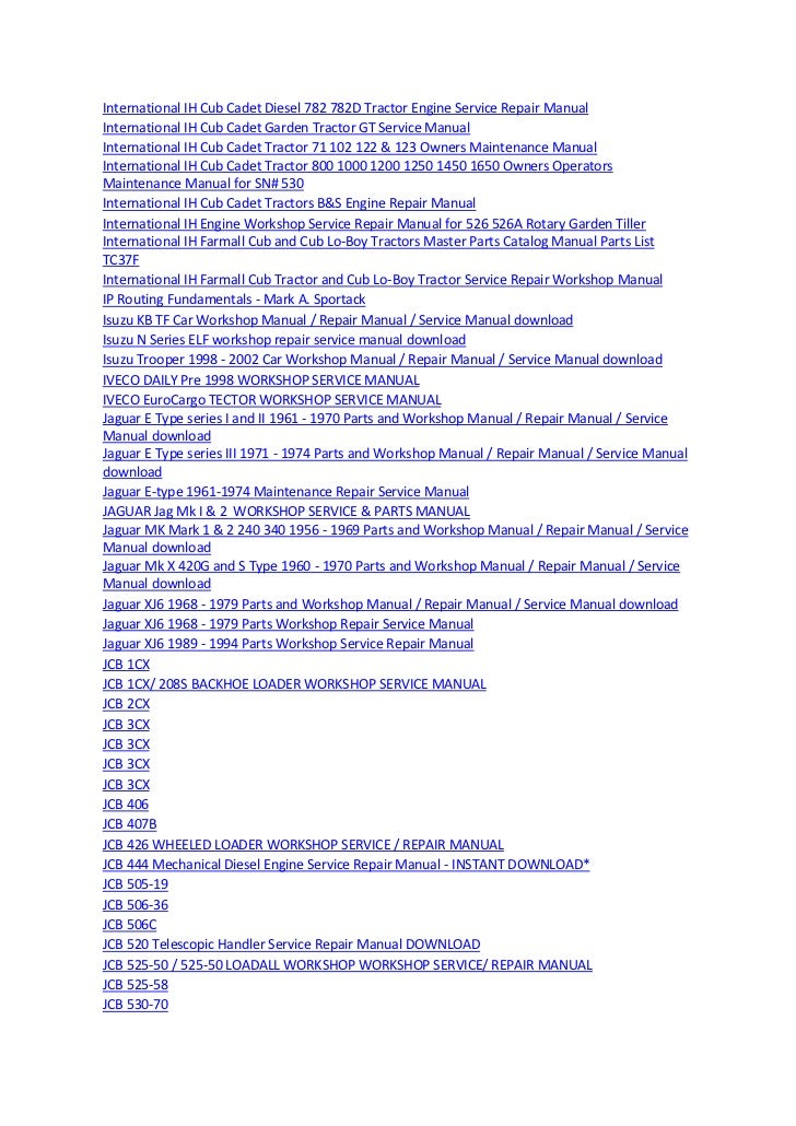 manuals 27 728?cb=1370418804 manuals Cub Cadet Electrical Diagram at mifinder.co