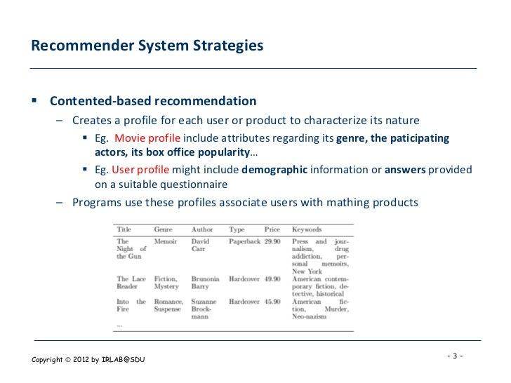 Matrix Factorization Techniques For Recommender Systems Slide 3