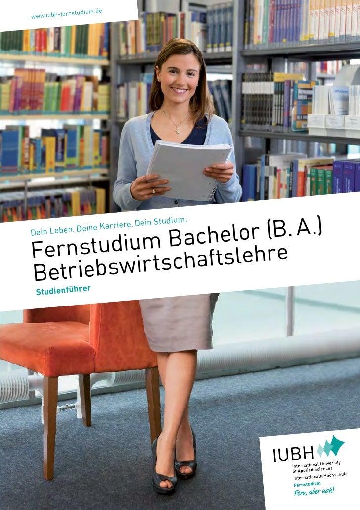 nstudium.dewww.iubh-fer                    lor (B.A.)                                 in   Studium.                  e Ka...