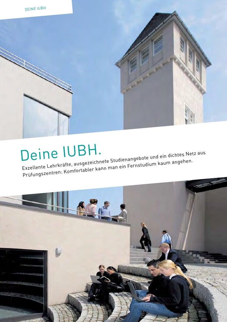 DEINExx BH    xx IUDein e IUBH.             us gezeichnete S                                          tudienangebo        ...