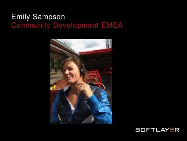 Emily SampsonCommunity Development EMEA