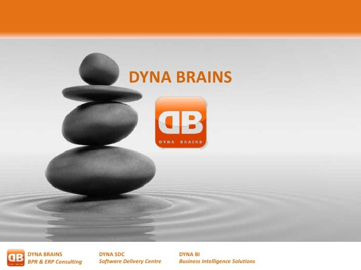 DYNA BRAINSDYNA BRAINS            DYNA SDC                   DYNA BIBPR & ERP Consulting   Software Delivery Centre   Busi...