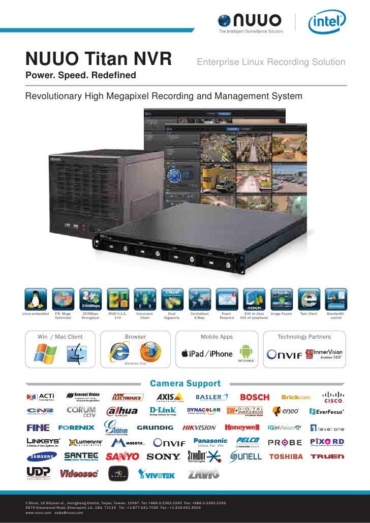 NUUO TiTAN NVR 8 Bay - Info Tech Middle East