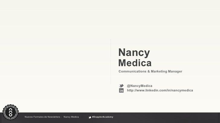 Nuevos formatos y contenidos para newsletter Slide 2