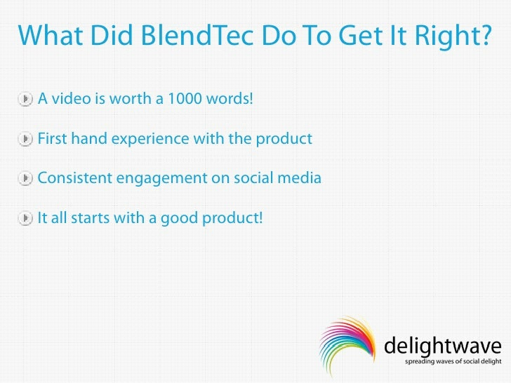 Corporate Social Media Case Study: Blendtec | The ...