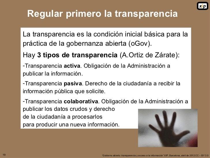 Transparencia y acceso a la informaci n for Oficina de transparencia y acceso ala informacion