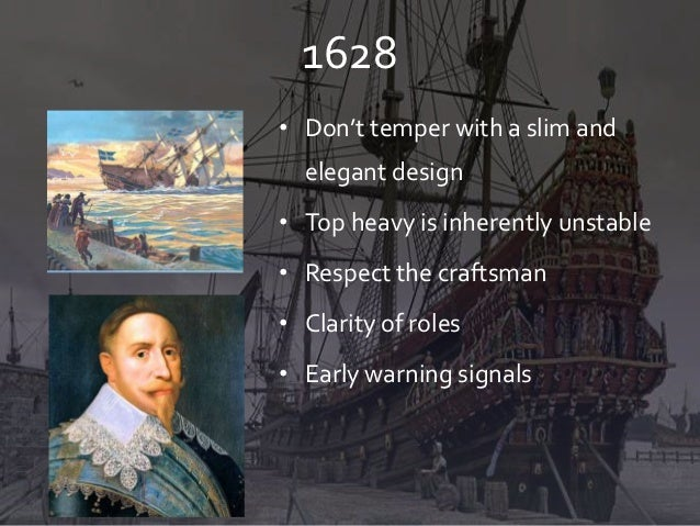 1628• Don't temper with a slim and  elegant design• Top heavy is inherently unstable• Respect the craftsman• Clarity of ro...