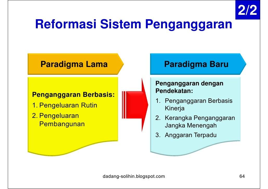 Penganggaran Berbasis Kinerja (PBK)Tujuan       1. Menunjukan keterkaitan antara pendanaan dan                prestasi kin...