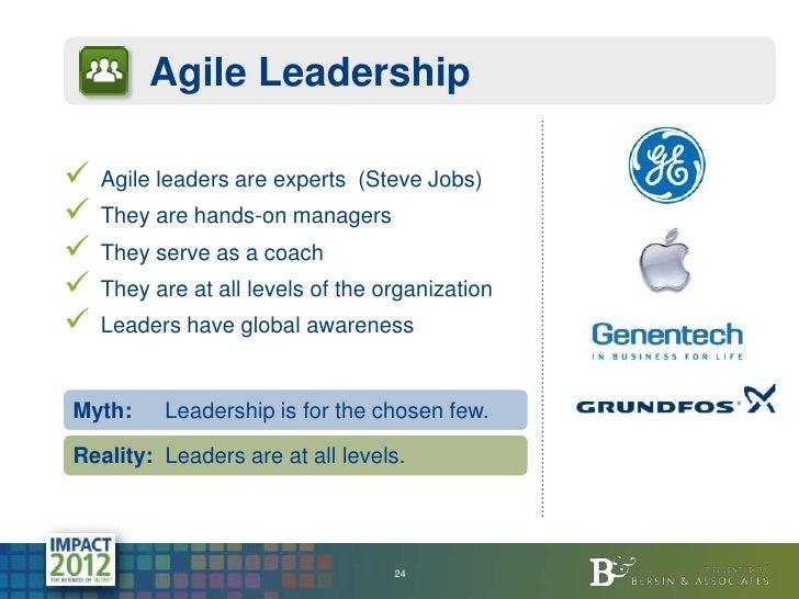 Hr Jobs In Dallas >> Agile Leadership Agile leaders are