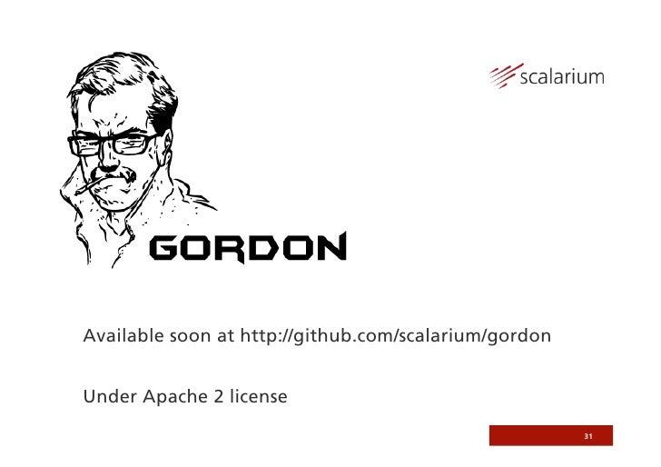 Amazon SWF and Gordon