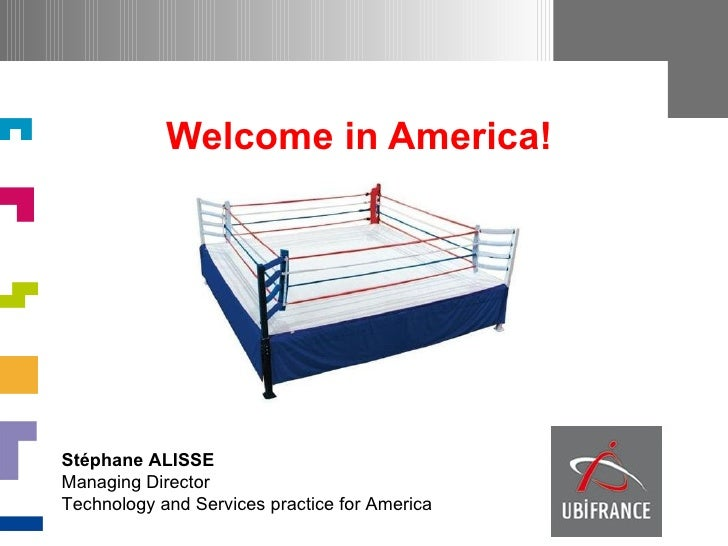 Welcome in America!Stéphane ALISSEManaging DirectorTechnology and Services practice for America