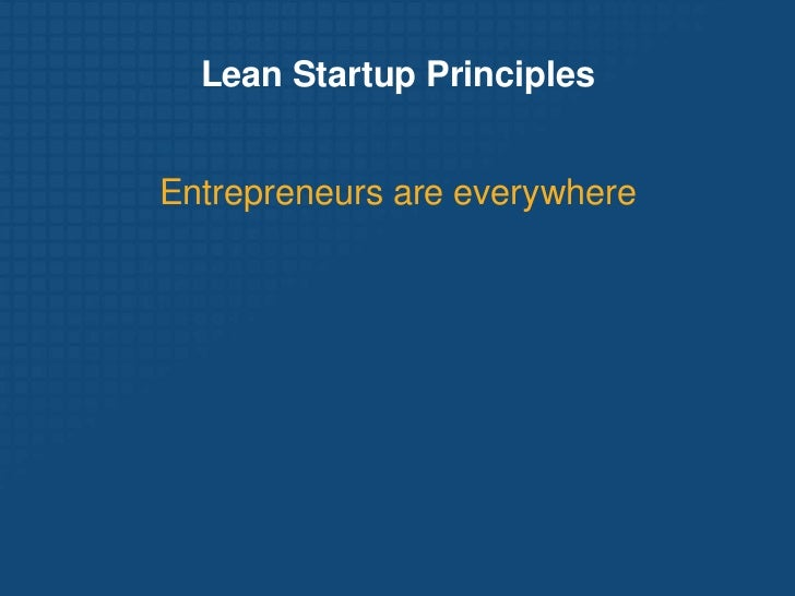 2012 05 15 eric ries the lean startup pwc canada Slide 3