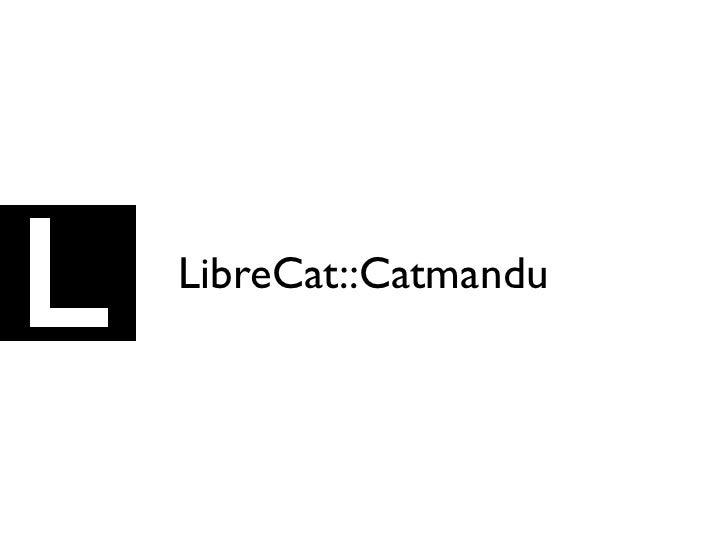 LibreCat::Catmandu