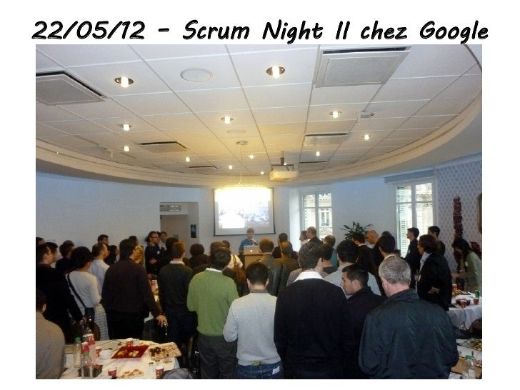22/05/12 – Scrum Night II chez Google