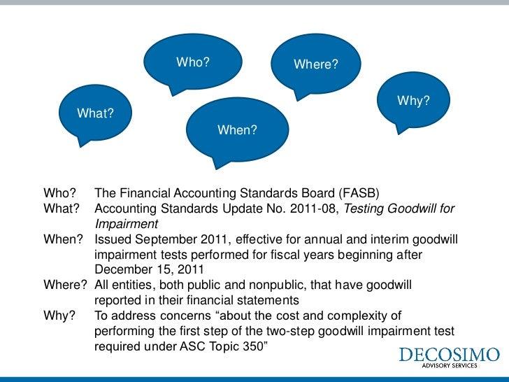 Step Zero: New Qualitative Assessment Allowed for Assessing Goodwill  Slide 3