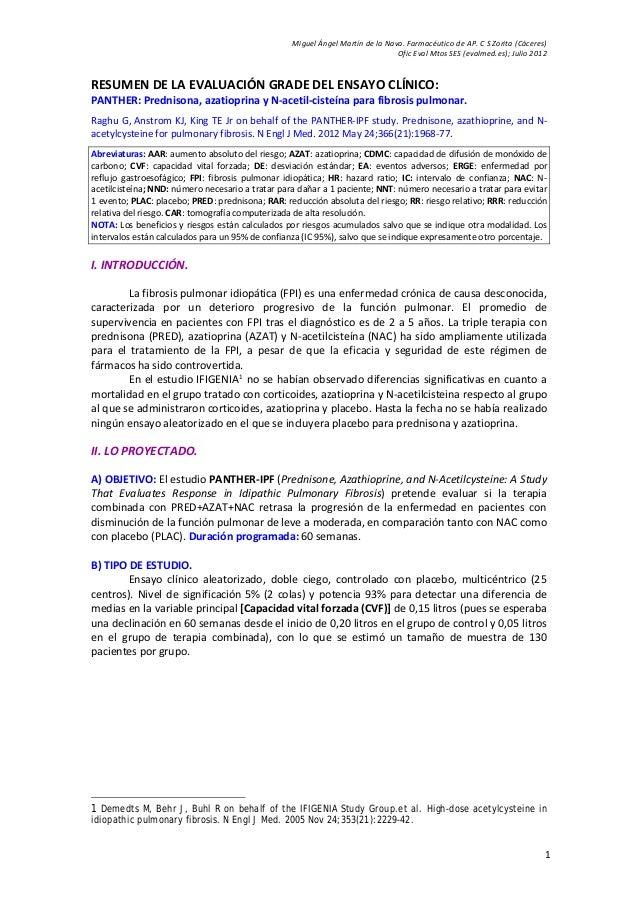 Miguel Ángel Martín de la Nava. Farmacéutico de AP. C S Zorita (Cáceres) Ofic Eval Mtos SES (evalmed.es); Julio 2012 1 RES...
