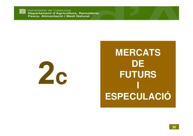 MERCATS         DEc      FUTURS          I    ESPECULACIÓ                  30