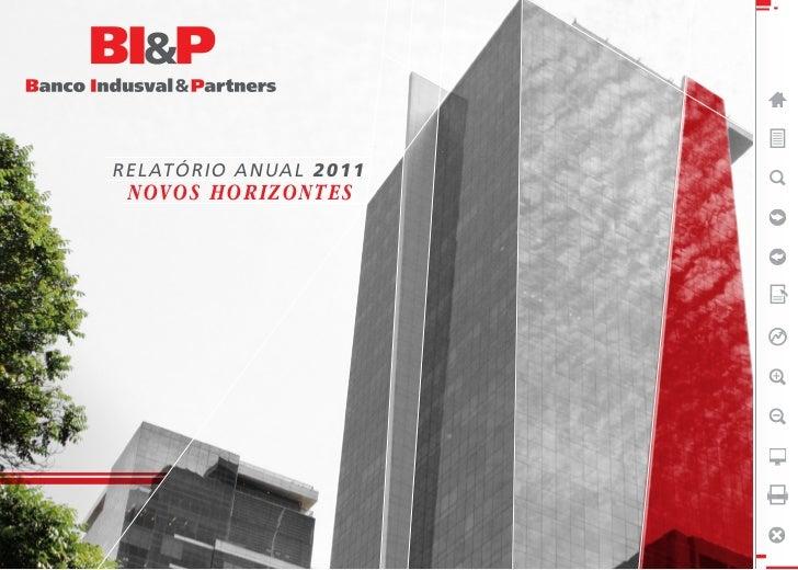 RELATÓRIO ANUAL 2011 NOVOS HORIZONTES