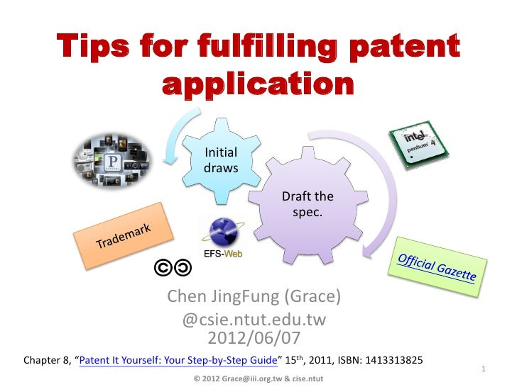 Tips for fulfilling patent            application                                      Initial                            ...