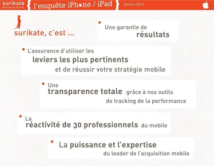 édition 2012                                 Une garantie desurikate, c'est ...                            résultats    L'...
