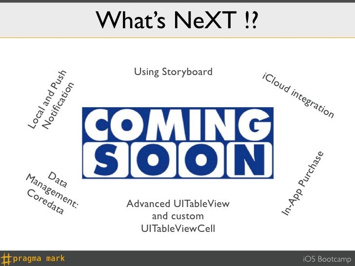 What's NeXT !?                     Using Storyboard      iCl       cat Push                                               ...