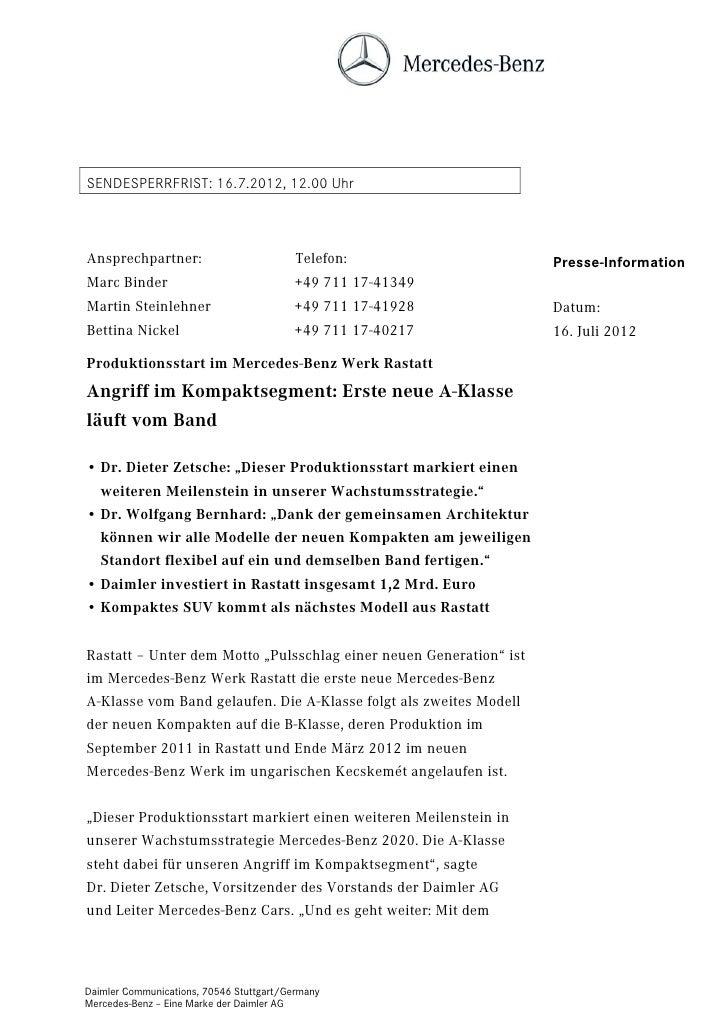 SENDESPERRFRIST: 16.7.2012, 12.00 UhrAnsprechpartner:                          Telefon:                  Presse-Informatio...
