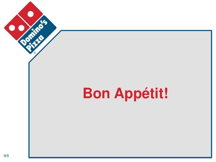 dominoes analysis Operation management in domino pizza uploaded by huy bach  9 competitor analysis brand shares of chained 100% hd/ta 80 70 60 50 40 30 20 10 0 figure 7.