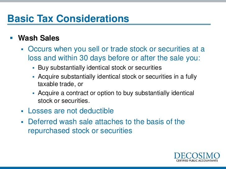 Option trading losses tax deductible