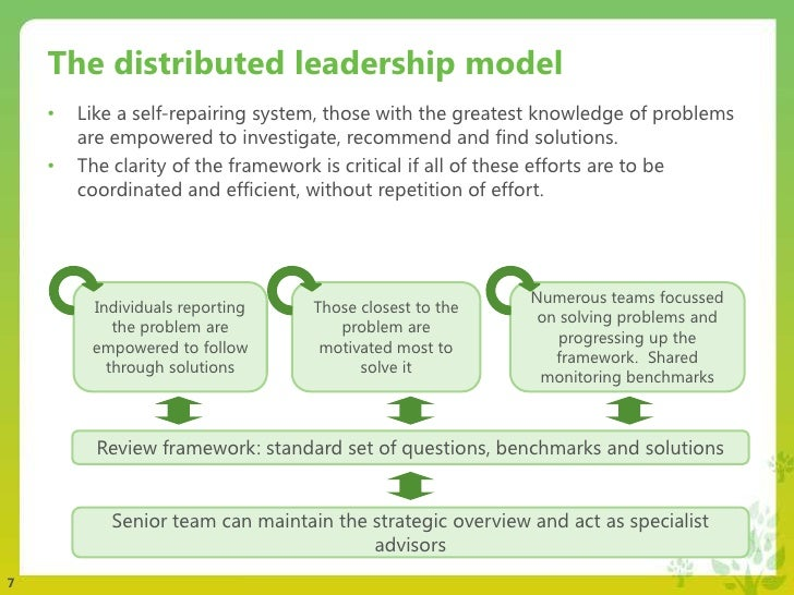 Developing leaders in a small school through partnership