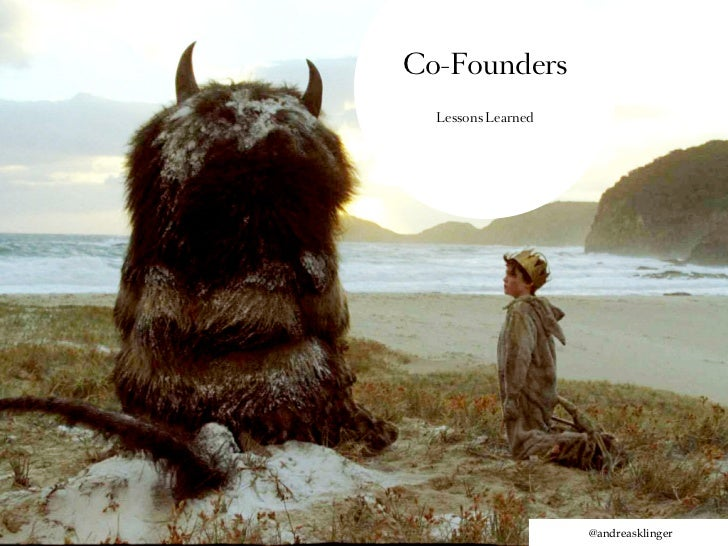 Co-Founders  Lessons Learned                    @andreasklinger