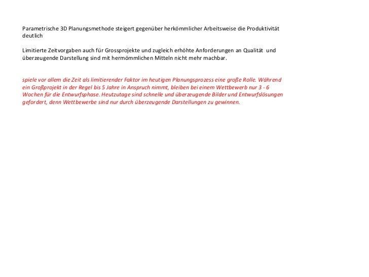 Schrittweise Vorgehensweise:Gewinnen von Partnern/Sponsoren für den Aufbau der PlattformBekanntmachen der parametrischen A...