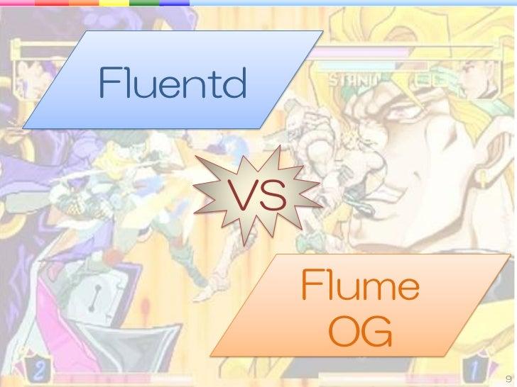 Fluentd      VS           Flume            OG            Copyright © DRECOM Co., Ltd All Rights Reserved.                 ...
