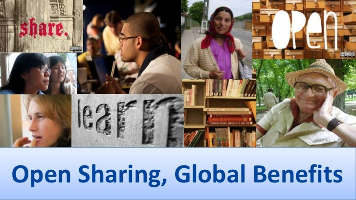 Open Sharing, Global Benefits