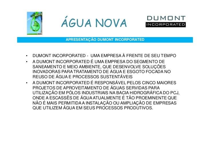 Água Nova Proj32 Campinas Slide 3